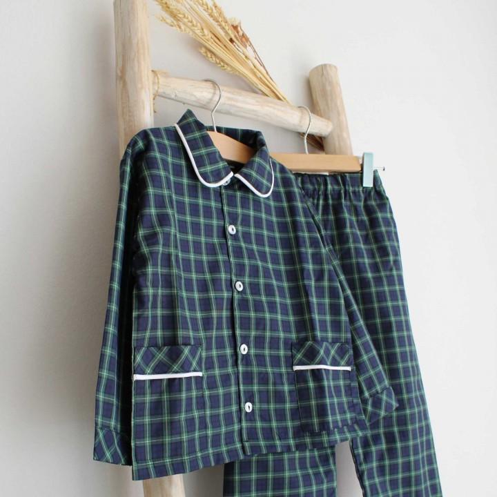 Green Plaid Pyjama