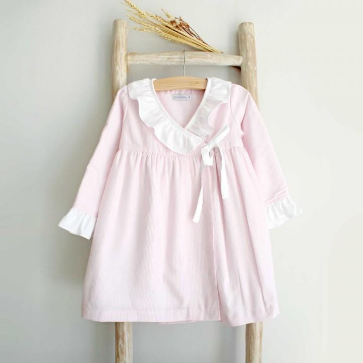 Pink Stripes Robe