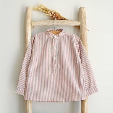 Striped Mao Shirt