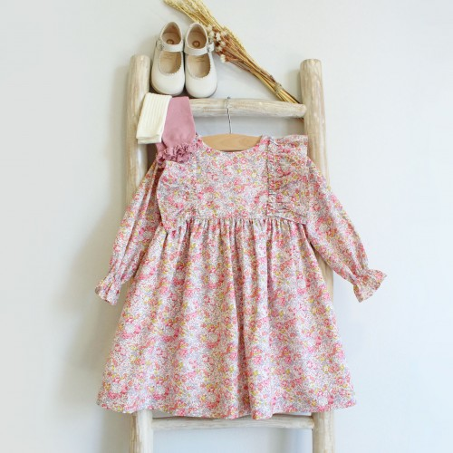 Frilly Floral Liberty Dress