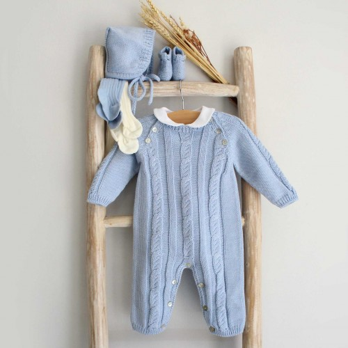 Cable Wool Romper