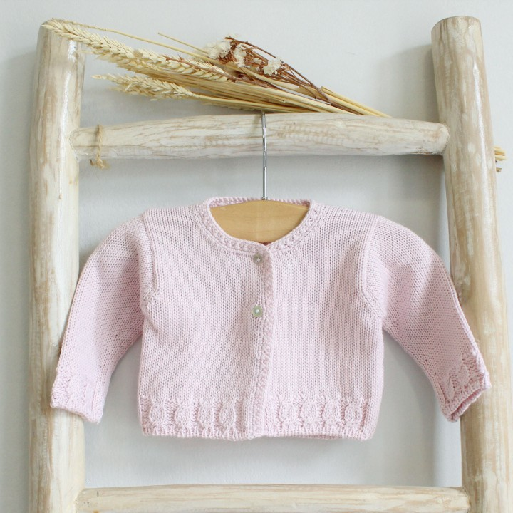 Cable Knitted cardigan