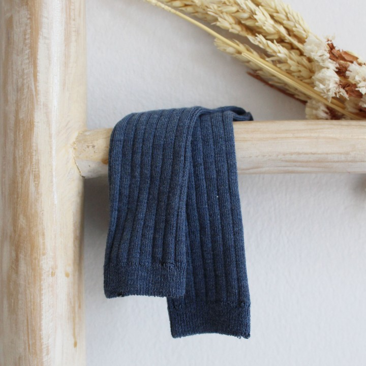 Knee High Dusty Blue Socks