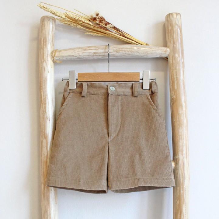 Classic corduroy shorts