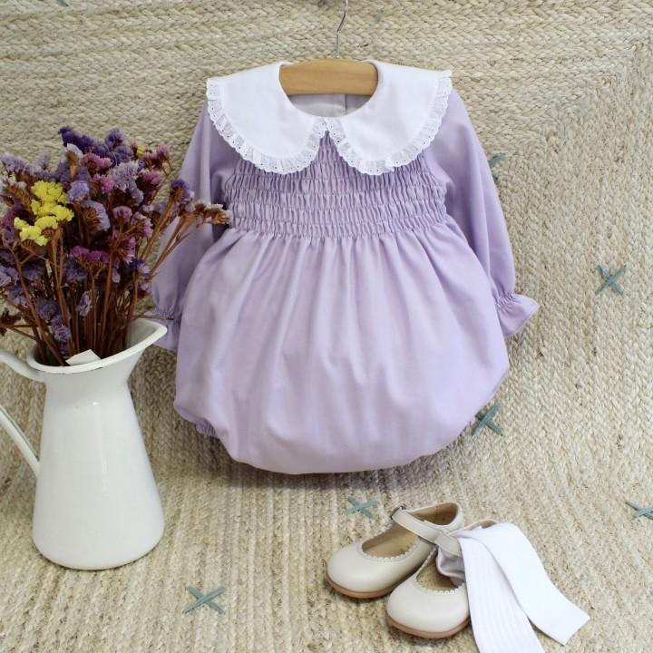 Lavender Romper