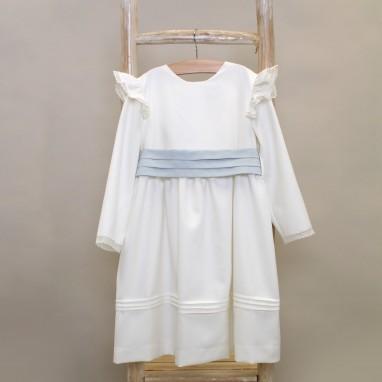 Ivory Frilly Dress