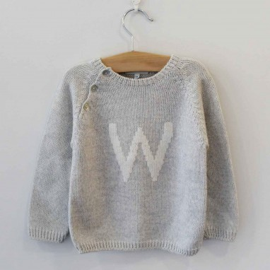 Personalized Letter Jumper